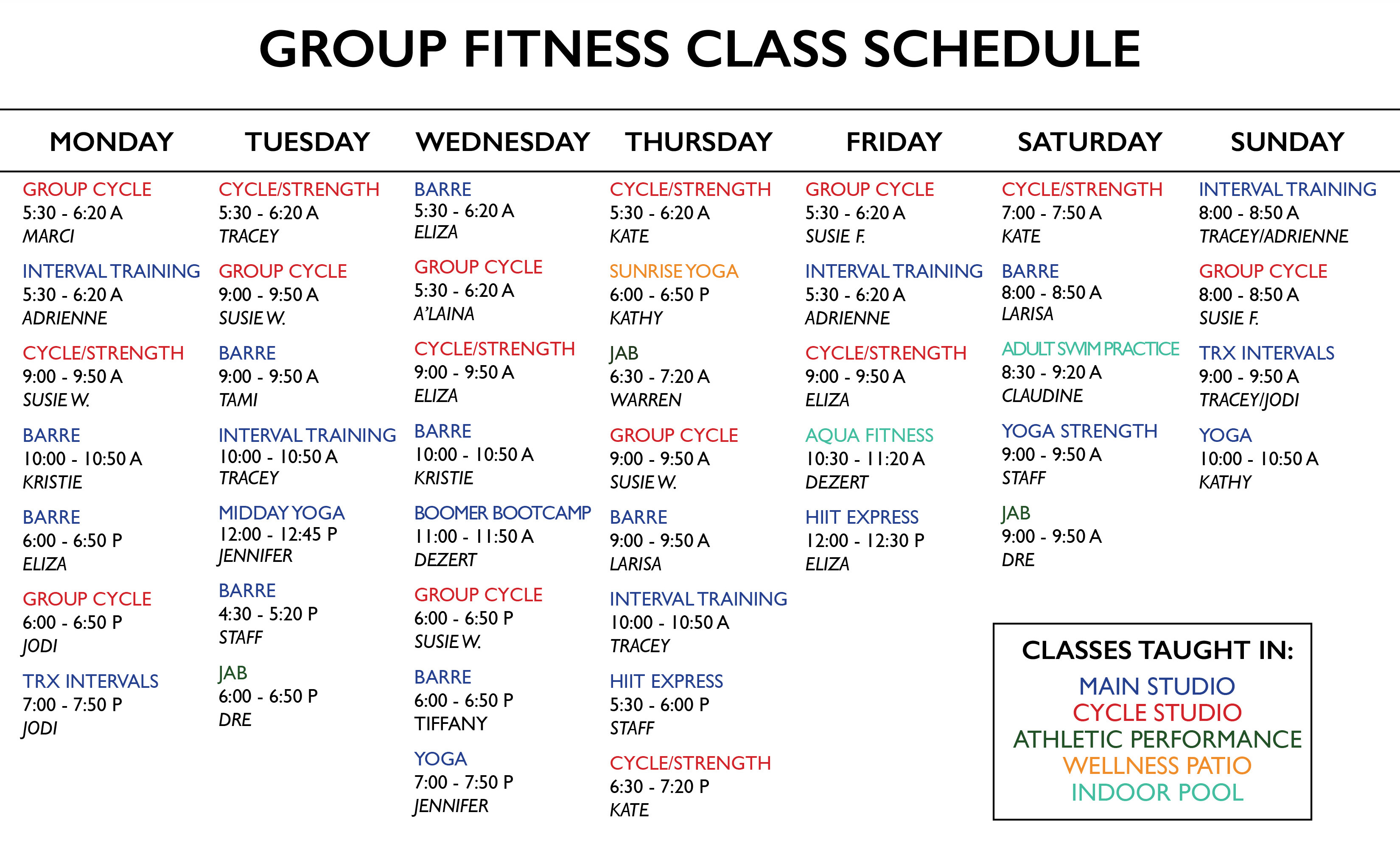 Class Sched 4 EMAIL